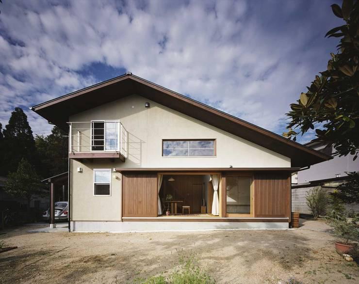 ファサード: 松デザインオフィスが手掛けた家です。