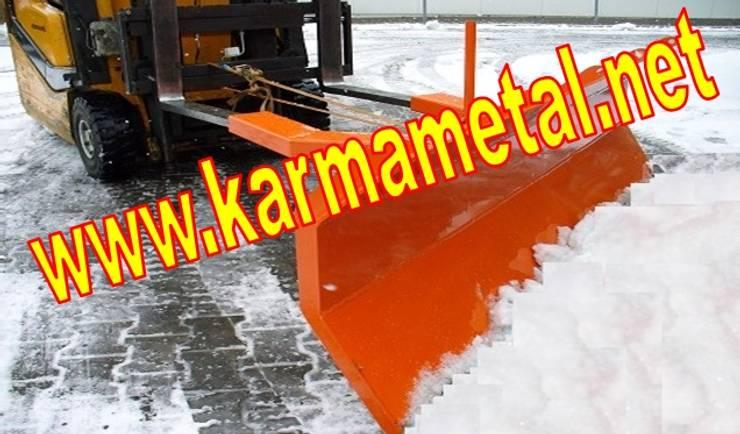 KARMA METAL – KARMA METAL-Forklift Kar Kum Mıcır Küreme Ataşmanı Kepçesi:  tarz Spa, Endüstriyel