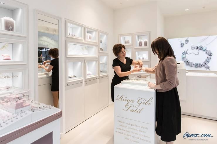 Murat Oral İç mimarlık ve Tasarım Tic. Ltd. Şti – Pandora:  tarz Dükkânlar