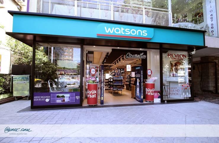 Murat Oral İç mimarlık ve Tasarım Tic. Ltd. Şti – Watsons:  tarz Dükkânlar, Modern
