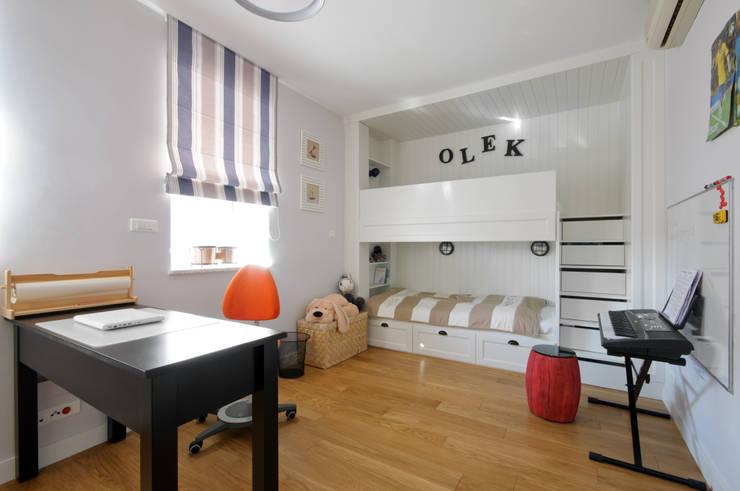 Dom w Wilanowie : styl , w kategorii Pokój dziecięcy zaprojektowany przez 3deko