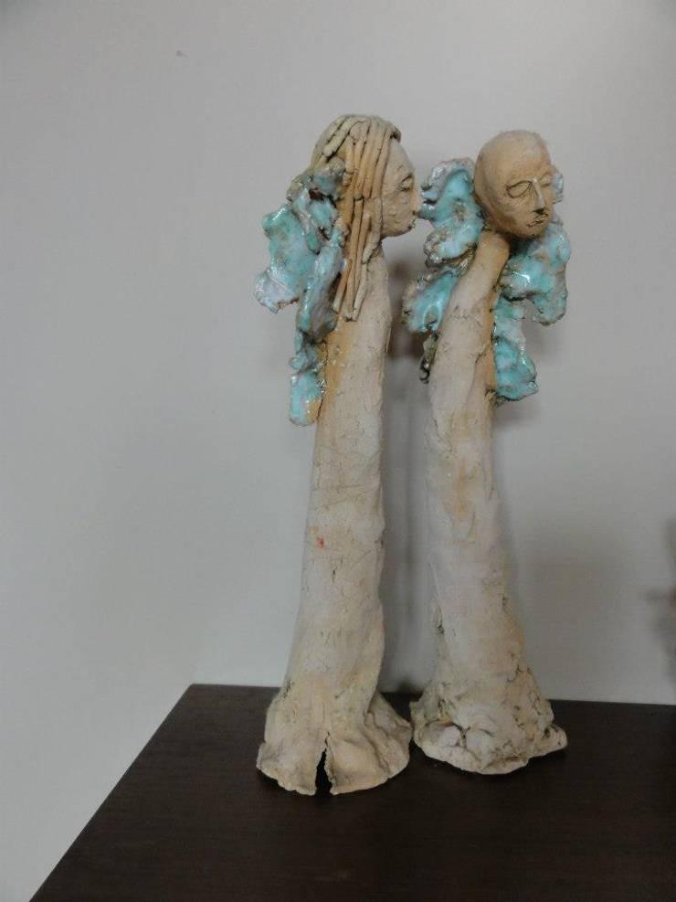 Rzeżby w glinie: styl , w kategorii Sztuka zaprojektowany przez studio bonito