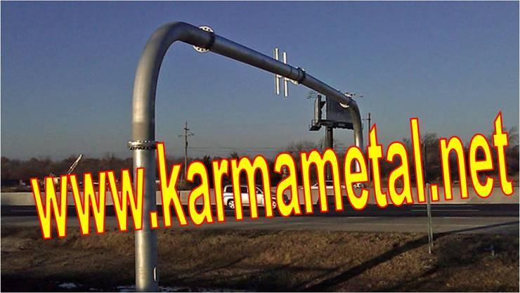 KARMA METAL – KARMA METAL-Reklam Tabela Totem Direği Borusu İmalatı :  tarz Mutfak, Endüstriyel