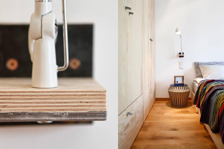 Sypialnia : styl , w kategorii Sypialnia zaprojektowany przez ARTEMIA DESIGN