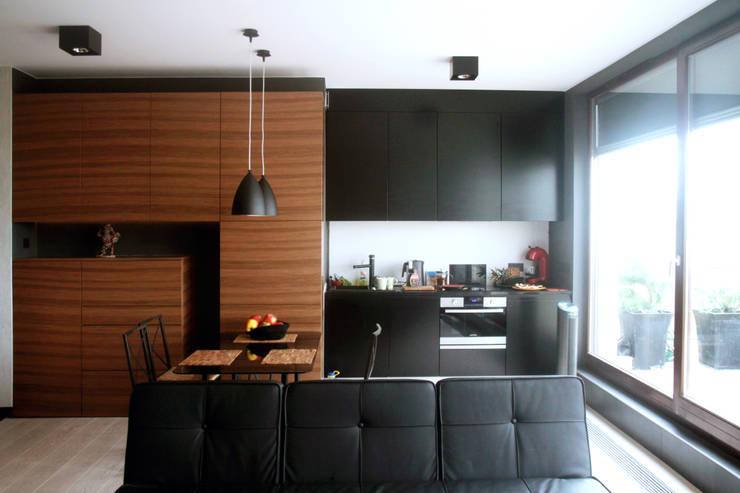 Wnętrza : styl , w kategorii Salon zaprojektowany przez Architekt wnętrz Aleksandra Stefaniak