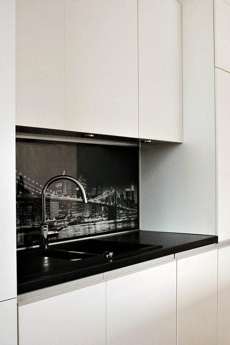 Wnętrza : styl , w kategorii Kuchnia zaprojektowany przez Architekt wnętrz Aleksandra Stefaniak