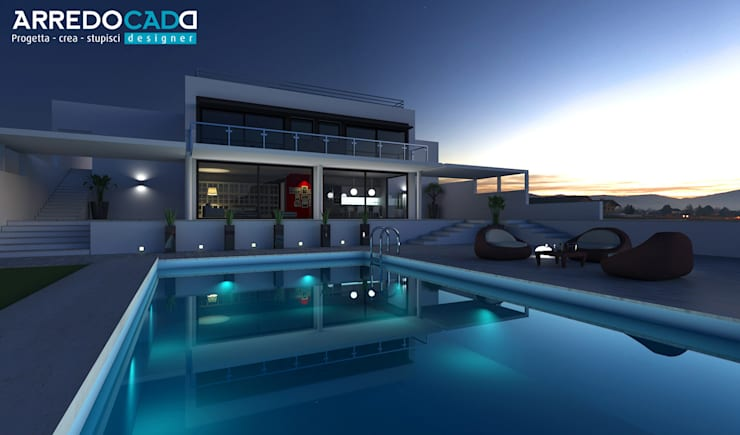 Piscina  por ArredoCAD Designer
