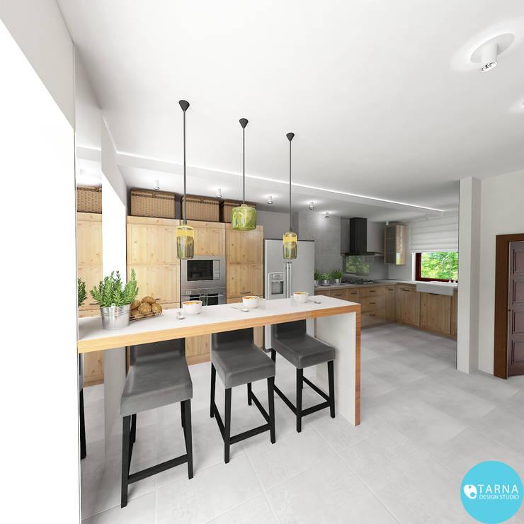 Sonatina: styl , w kategorii Kuchnia zaprojektowany przez Tarna Design Studio