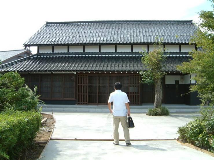 竣工外観1: 杉江直樹設計室が手掛けたです。