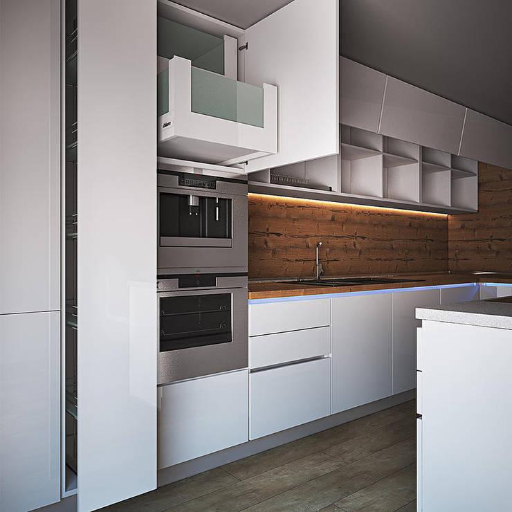 Modelling: Кухня в . Автор – Станислав Святюк
