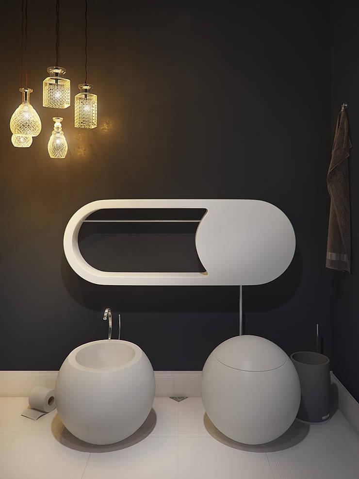 Interior Visualization: Ванные комнаты в . Автор – Станислав Святюк