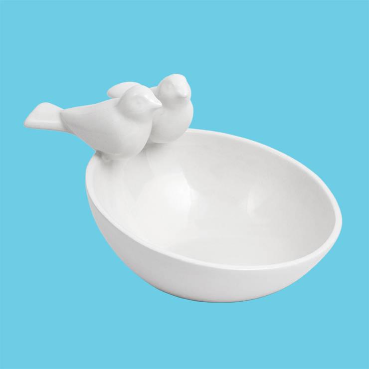 Bowl 2 pajaritos: Hogar de estilo  por Eclozión Diseños