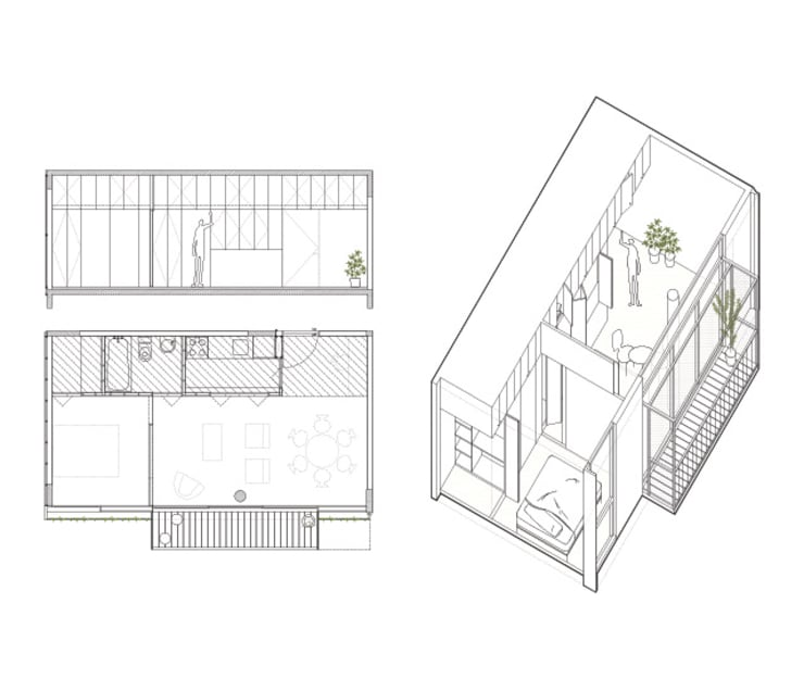 Quintana 4598:  de estilo  por IR arquitectura,Moderno