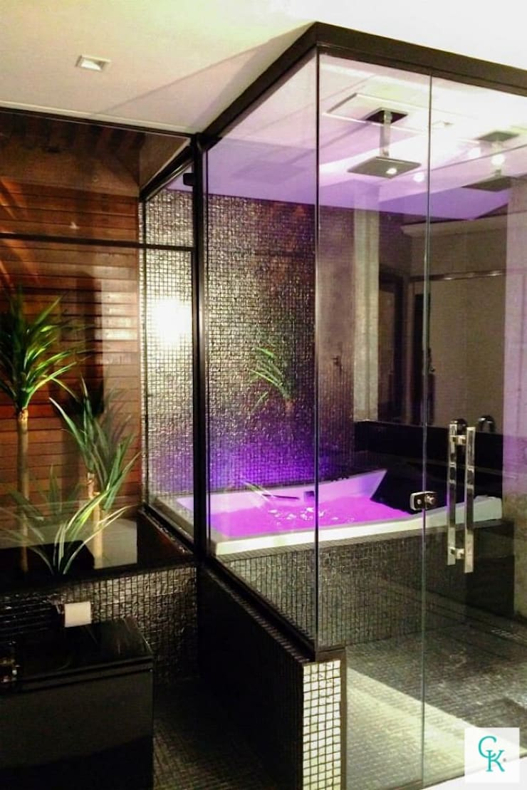 APÊ RC | Suíte Master : Banheiros  por CAROLINA KLEEBERG