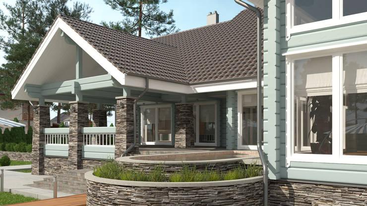Дом в Конаково: Дома в . Автор – Studio of Architecture and Design 'St.art'