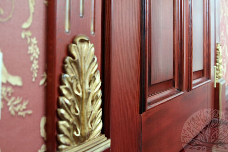 Двери из натурального ясеня: Окна в . Автор – Lesomodul,