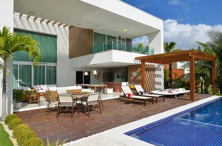 Área de lazer: Piscinas modernas por Pinheiro Martinez Arquitetura