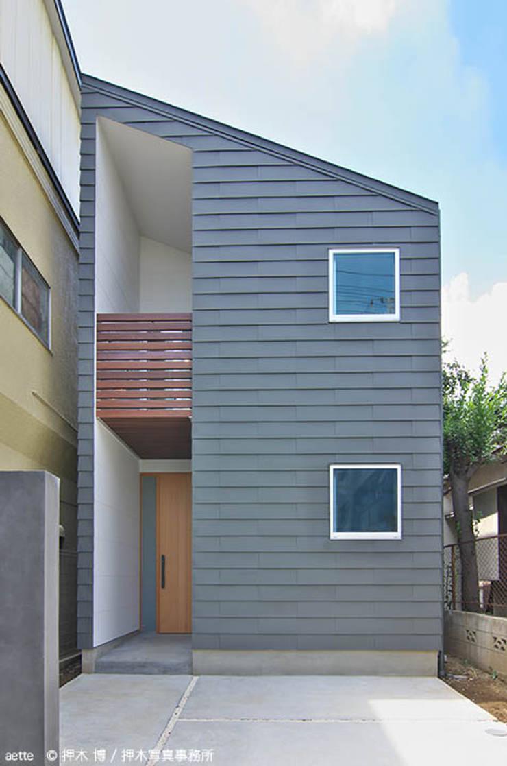 aette: 竹内建築デザインスタジオが手掛けた家です。,オリジナル