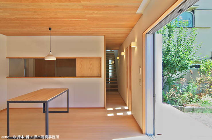 Dining room by 竹内建築デザインスタジオ