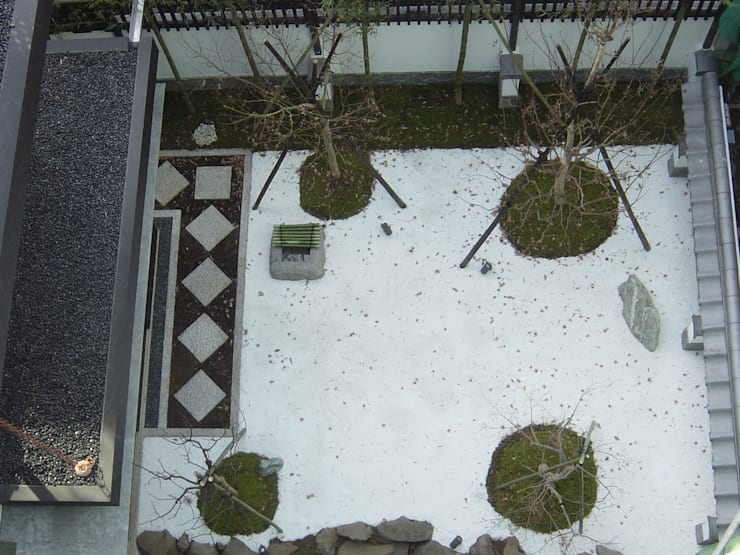K seminar house: suz-sasが手掛けた庭です。
