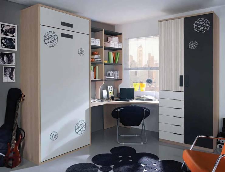 Camera da letto in stile  di CREA Y DECORA MUEBLES