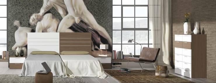 CREA Y DECORA MUEBLES:  tarz Yatak Odası