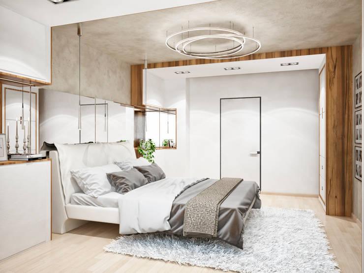 Студия архитектуры и дизайна ДИАЛ:  tarz Yatak Odası