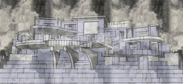 Villa Alta Vista: Casas de estilo  por Ziervogel Architecture