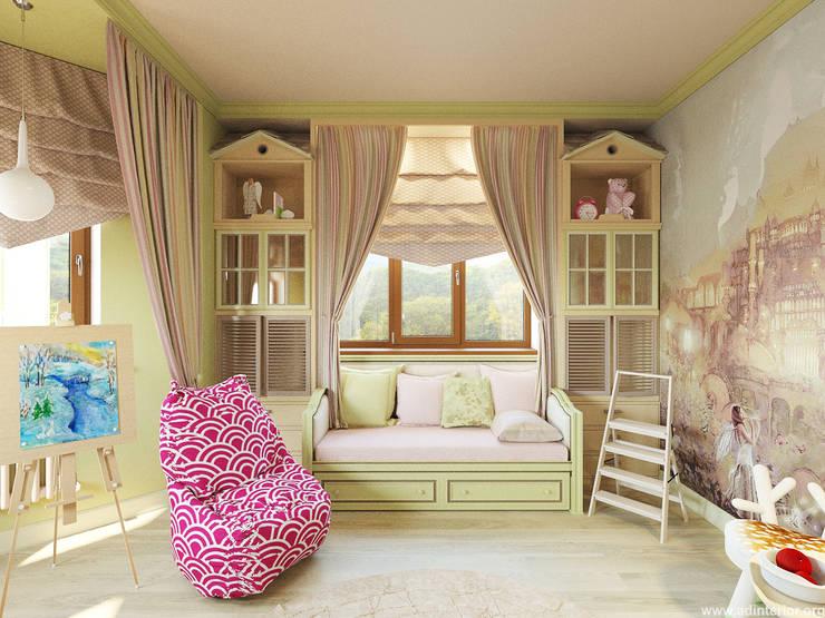 Projekty,  Pokój dziecięcy zaprojektowane przez A&D-interior