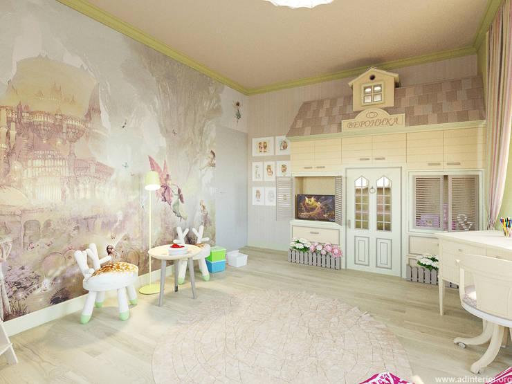 Детская: Детские комнаты в . Автор – A&D-interior, Эклектичный