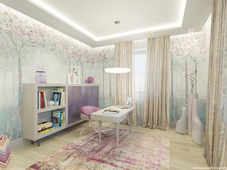 Комната хозяйки: Рабочие кабинеты в . Автор – A&D-interior