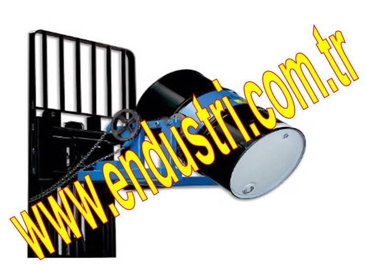 ENDÜSTRİ GRUP – ENDÜSTRİ GRUP-Forklift Varil Taşıma Çevirme dokme bosaltma devirme Ataşmanı aparati:  tarz Bahçe, Endüstriyel