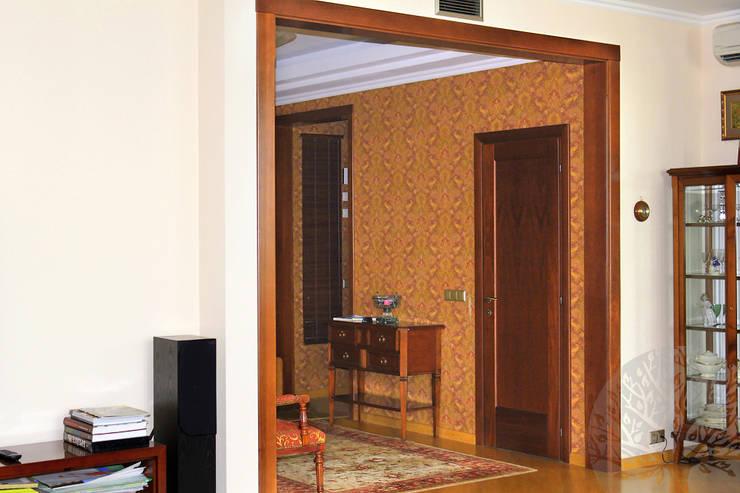 Интерьер с элементами : Окна и двери в . Автор – Lesomodul