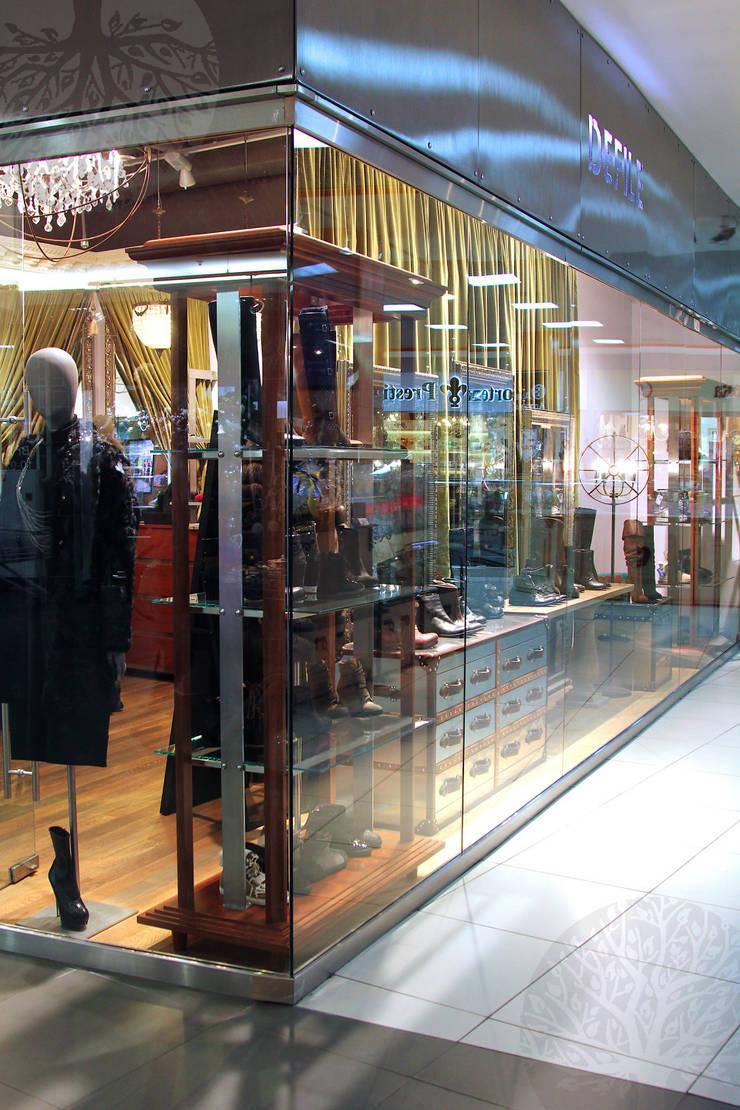 Мебель для бутика одежды: Офисные помещения и магазины в . Автор – Lesomodul