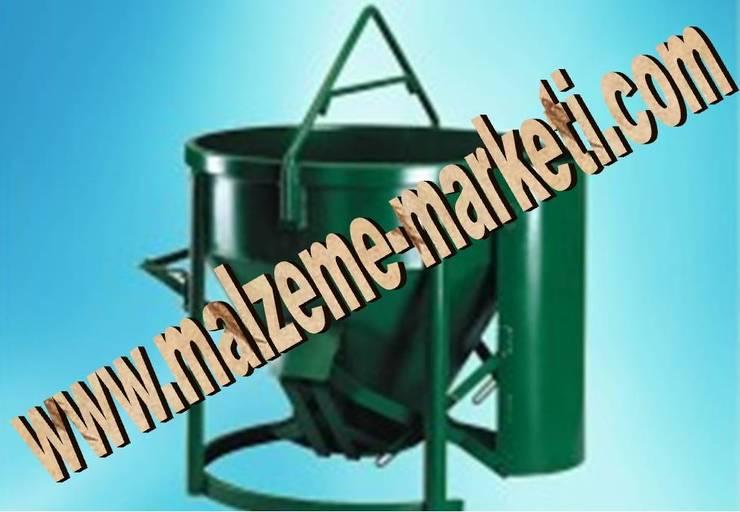 Malzeme Marketi – Malzeme Marketi -Kule Vinç Harç Moloz Dökme Beton Kovası Kovaları:  tarz Multimedya Odası, Endüstriyel