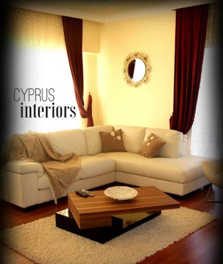 cyprus interiors – villa olive:  tarz Oturma Odası