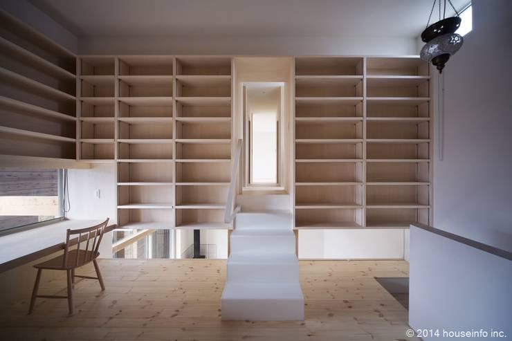 書斎: (株)ハウスインフォが手掛けた和室です。,