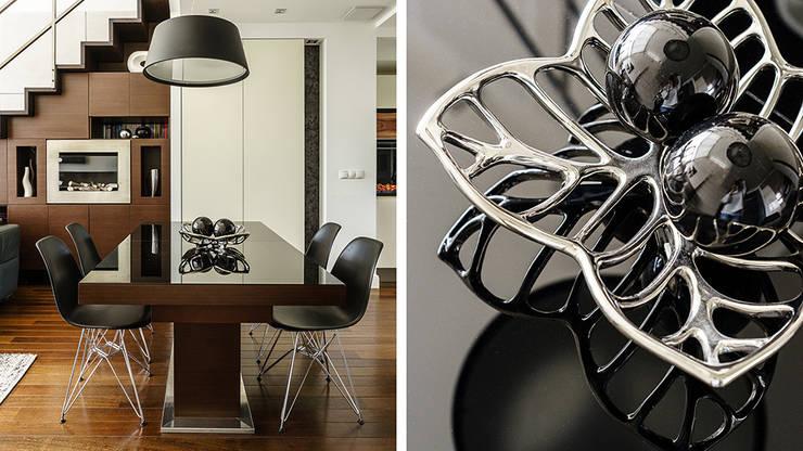LOFT – ALTORIA – GDYNIA: styl , w kategorii Jadalnia zaprojektowany przez Anna Serafin Architektura Wnętrz,Nowoczesny