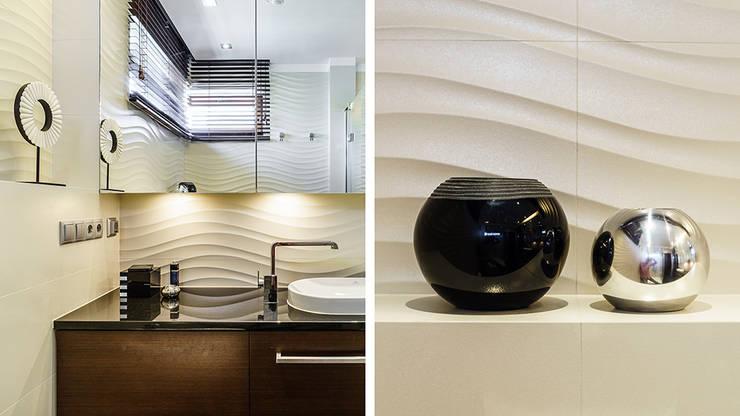 LOFT – ALTORIA – GDYNIA: styl , w kategorii Łazienka zaprojektowany przez Anna Serafin Architektura Wnętrz,Nowoczesny