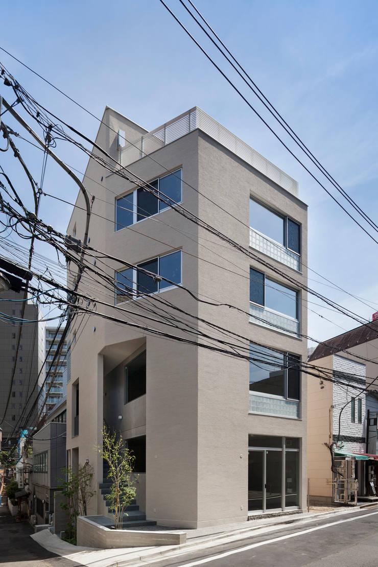 ファサード: HAN環境・建築設計事務所が手掛けた家です。,