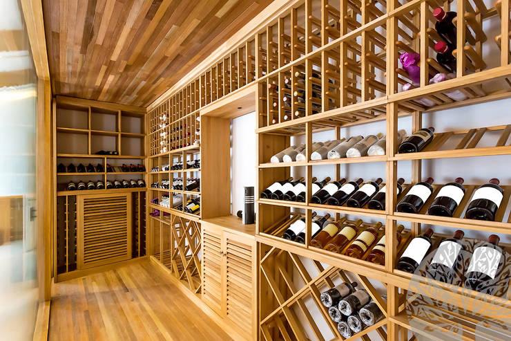 Lesomodul의  와인 보관
