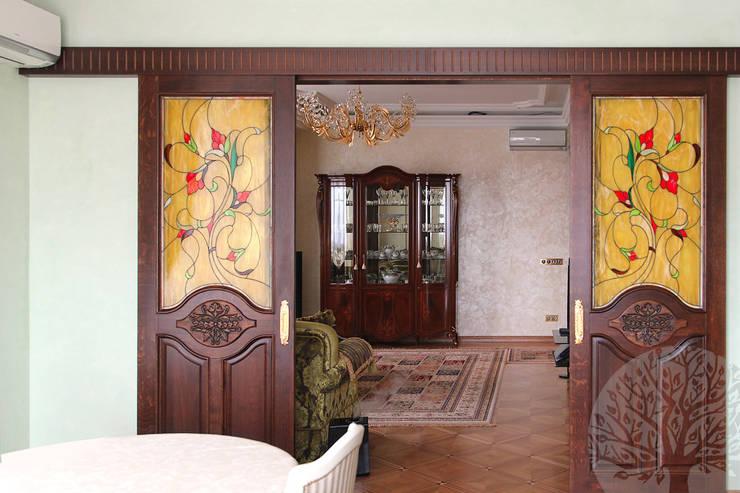 Эксклюзивные двери: Окна и двери в . Автор – Lesomodul