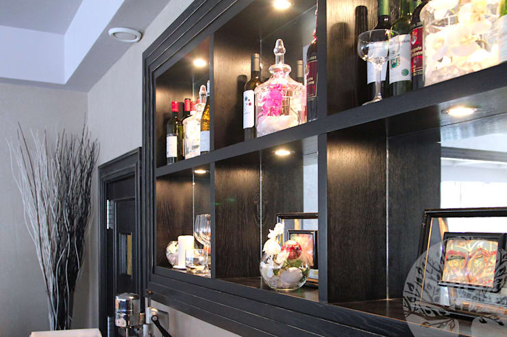Деревянный интерьер для ресторана: Офисные помещения и магазины в . Автор – Lesomodul,