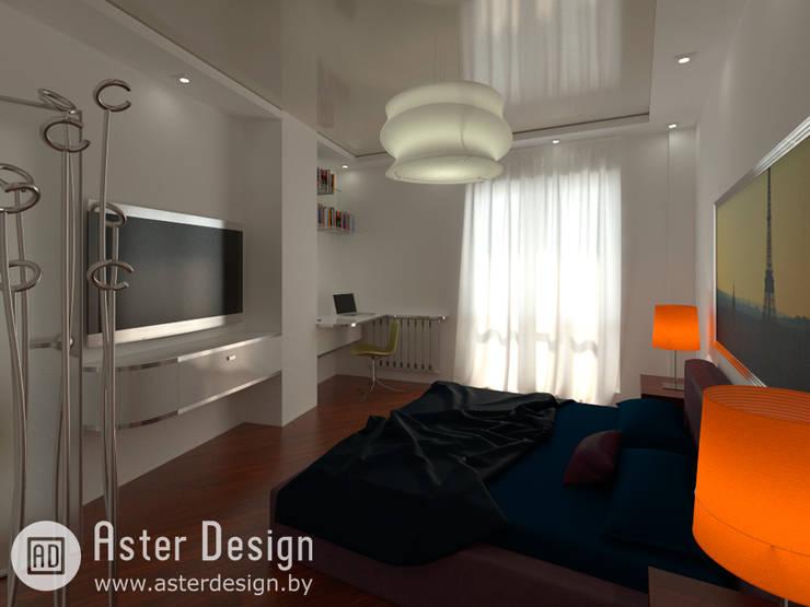 Авторский интерьер: Спальни в . Автор – ASTER DECO,