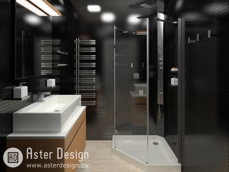 Авторский интерьер: Ванные комнаты в . Автор – ASTER DECO,