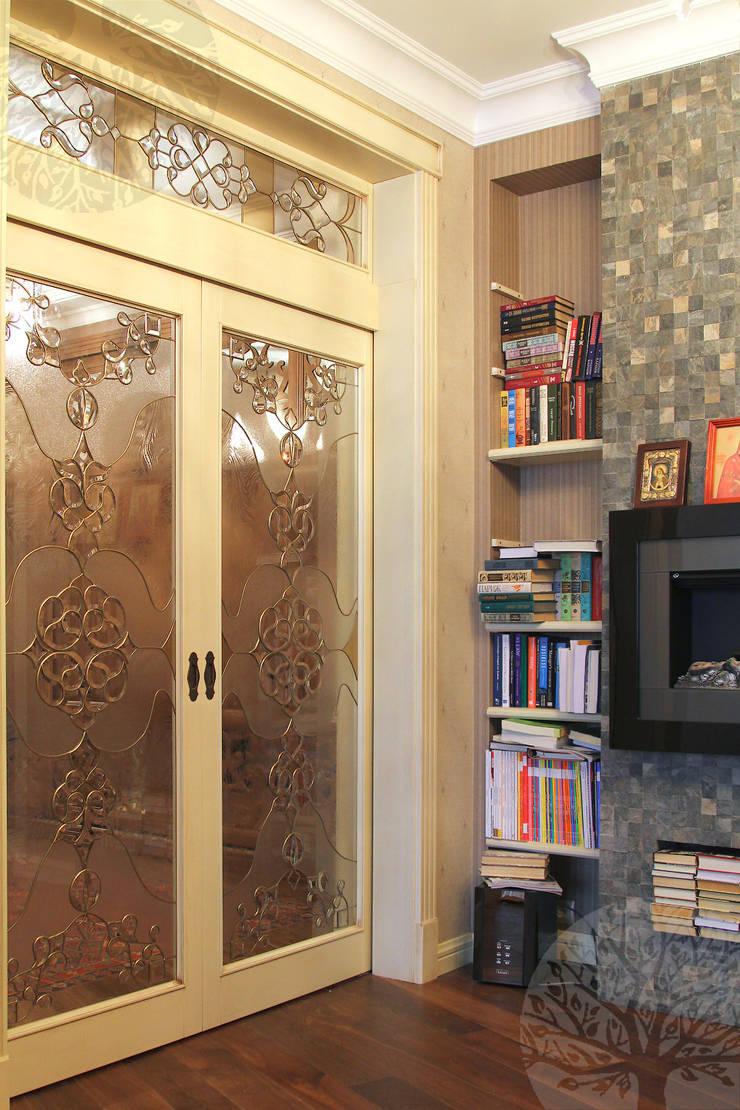 Двери ясень белая эмаль: Окна и двери в . Автор – Lesomodul