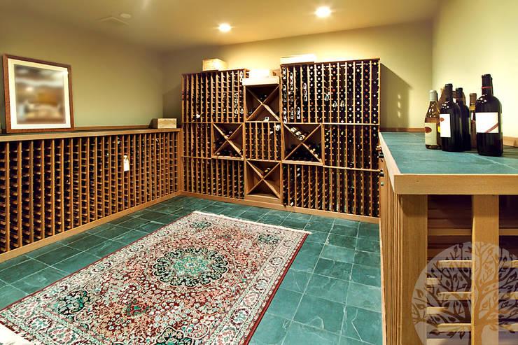 Мебель для винного погреба: Винный погреб в . Автор – Lesomodul
