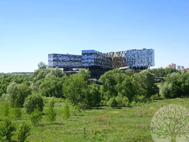Раздвижные двери в Москве: Офисные помещения и магазины в . Автор – Lesomodul