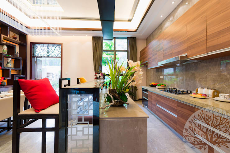 Кухня в современном стиле: Кухни в . Автор – Lesomodul