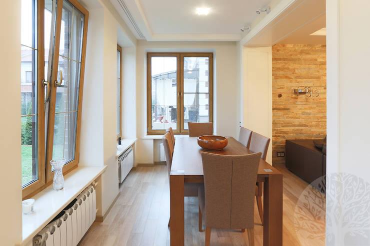 Двери в современном стиле ЖК «Суханово парк»: Кухня в . Автор – Lesomodul
